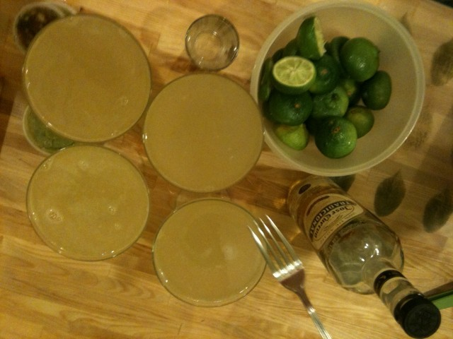 Krewe d'Agave's secret margarita mix