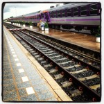 Vientiane, Laos to Bangkok Thailand by overnight express train